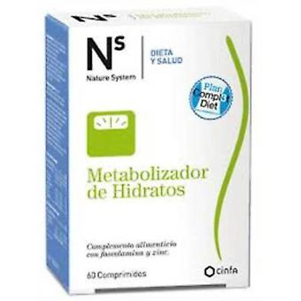 Cinfa Hydrates metabolizer Ns 60 Tablets (Sport , Proteins)