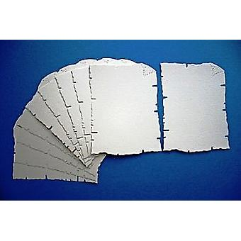 100 Cream Card Parchment Shapes for Kids Pirate Treasure Maps
