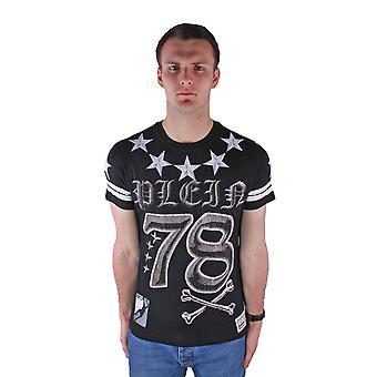 Philipp Plein Orides P17C MTK0330 SY001N 02 T-Shirt Black