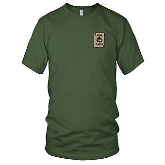U.S. 2 Bn 501st piechoty Reg 101st Airborne Div Alpha Avengers - Wietnam naszywka - męskie T Shirt