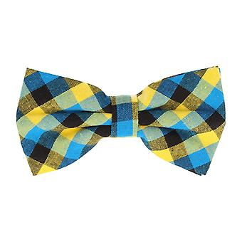Associati a icone di Mr. Vola ciclo Plaid blu giallo 12 x 7 cm