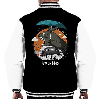 The Neighbors Journey My Neighbor Totoro Men's Varsity Jacket