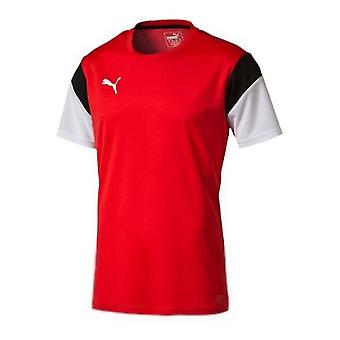 Puma maillot de formation foot (rouge-blanc)
