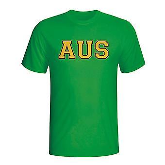 Koszulka Australia kraju Iso (zielony)