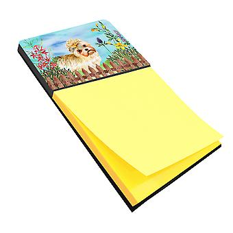 Carolines Treasures  CK1230SN Morkie Spring Sticky Note Holder