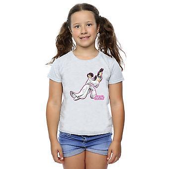Star Wars Girls Princess Leia Character T-Shirt