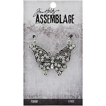 Tim Holtz Assemblage Pendant  -Butterfly THA20116