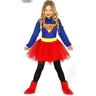 Faschingskostüme für Kinder Super Hero verkleiden Kostüm für Mädchen