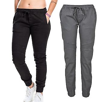 Urban classics ladies - BIKER jogging leisure stretch pants