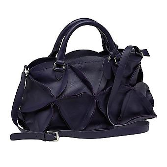 Burgmeister ladies handbag T221-119 leather violet