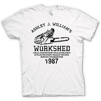 Mens t-skjorte-Evil Dead - Ash Williams - motorsag