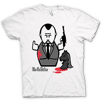 Mens T-shirt - Godfather - Mafia - Cartoon