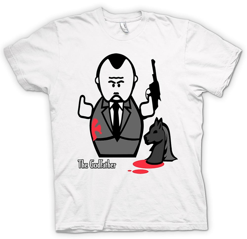 Womens T-shirt - Godfather - Mafia - Cartoon
