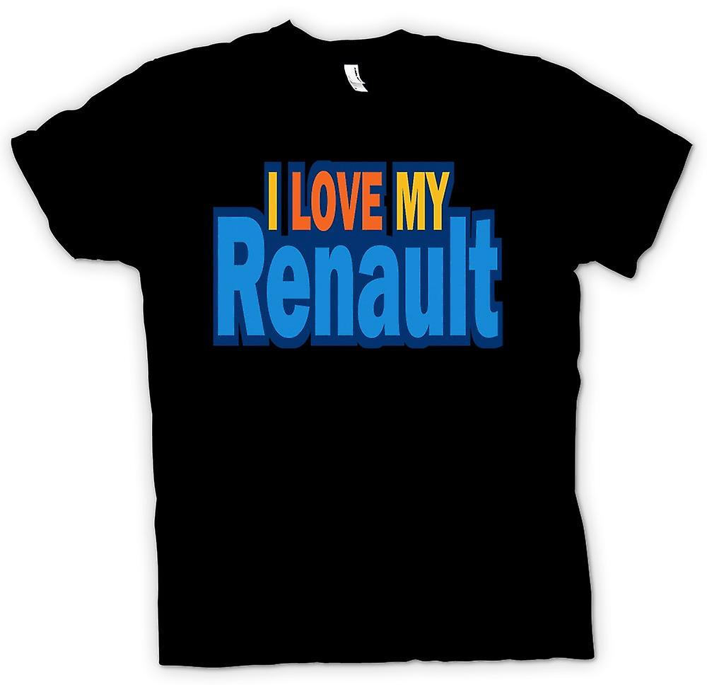 Kids T-shirt - I Love My Renault - Car Enthusiast