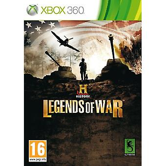 Historie Legends of War (Xbox 360)