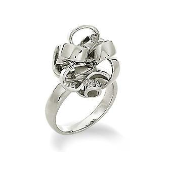 Orphelia Silber 925 Ring Bloem Zirkon ZR-3564