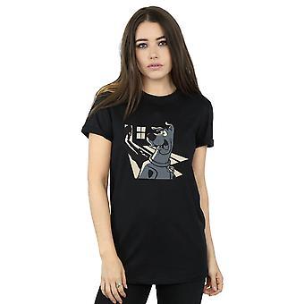 Scooby Doo Women's Shadow Ghost Boyfriend Fit T-Shirt