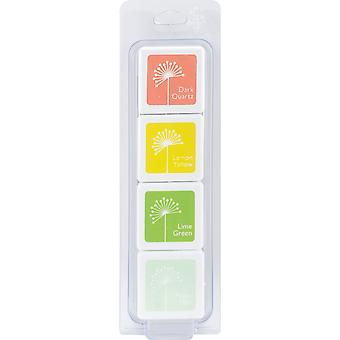 Hero Arts Dye Ink Cubes 4 Colors-Early Spring
