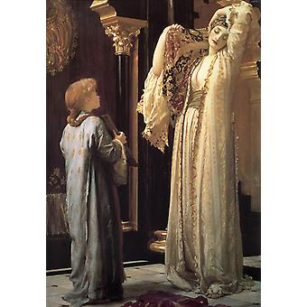 The Light of the Hareem,Lord Frederic Leighton,60x40cm