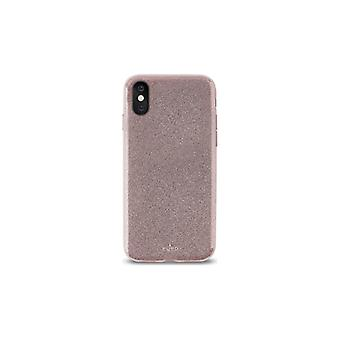 Puro iPhone X, Shine Cover, rosaguld