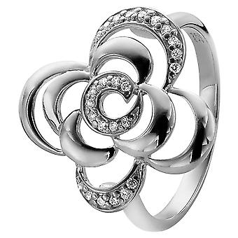 Orphelia sølv 925 Ring Zirconium ZR-3939