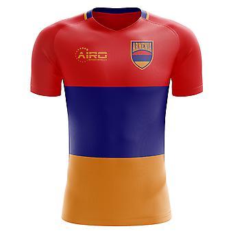 2018-2019 Armenia hjem konseptet fotball skjorte (barn)