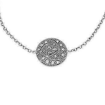 Gemondo 0,47 Markasit Rennie Mackintosh stil silverarmband