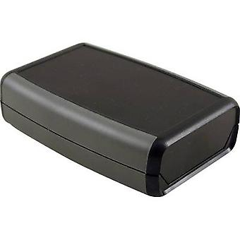 Hand-held casing 117 x 79 x 32 Acrylonitrile butadiene styrene Black Hammond Electronics 1553WCBK 1 pc(s)