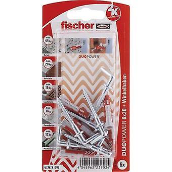 Fischer DUOPOWER Dowel set 30 mm 535218 1 Set