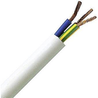 Flexible cable H05VV5-F 3 G 1.50 mm² Black Kopp