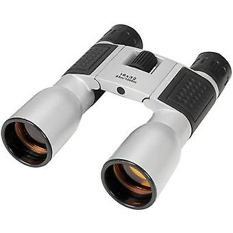 Basetech Compact 16 x 32 verrekijker 16 x 32 mm zilver-zwart