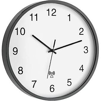 TFA 60.3511.10 Radio Wall clock 302 mm x 40 mm Anthracite