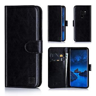 32nd Book wallet case + stylus for Samsung Galaxy S9 Plus - Black