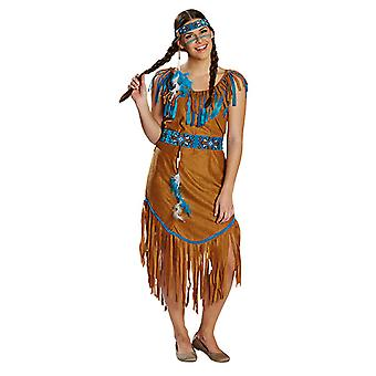 Indian ladies costume of Wild West Spuaw Carnival