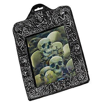 Foto puzzel schedels 21 x 26cm enge horror Halloween Decoratie-accessoire