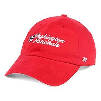 Washington Nationals MLB 47 Brand Cohasset Adjustable Hat
