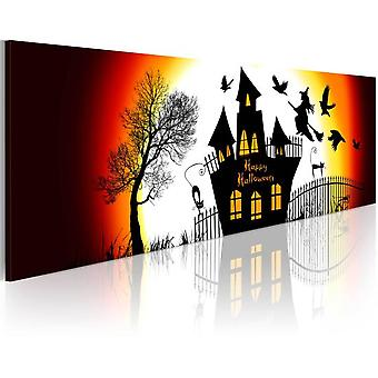Artgeist Canvas Print Black Halloween (Decoration , Pictures and frames , Canvases)