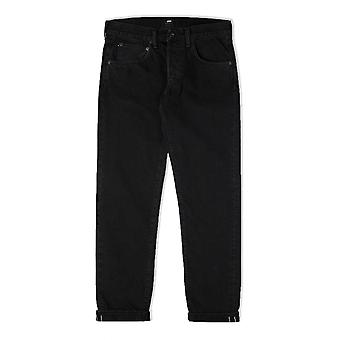 Edwin ED-55 Regular Tapered Red Selvage Black Jeans (Ragny Wash)