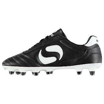 Sondico Kids Strike SG Junior Football Boots Soft Ground Lace Up Studs