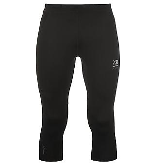 Karrimor Mens X Capri Pants Tights Trousers Activewear Three Quarter Shorts
