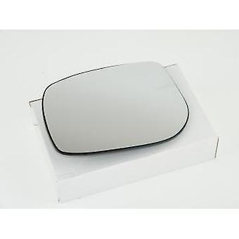 Left Passenger Side Mirror Glass (Heated) & Holder For TOYOTA YARIS 2005-2011