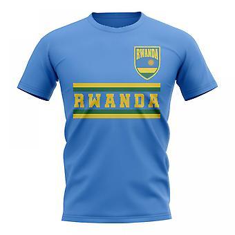 Rwanda Core Football pays T-Shirt (ciel)