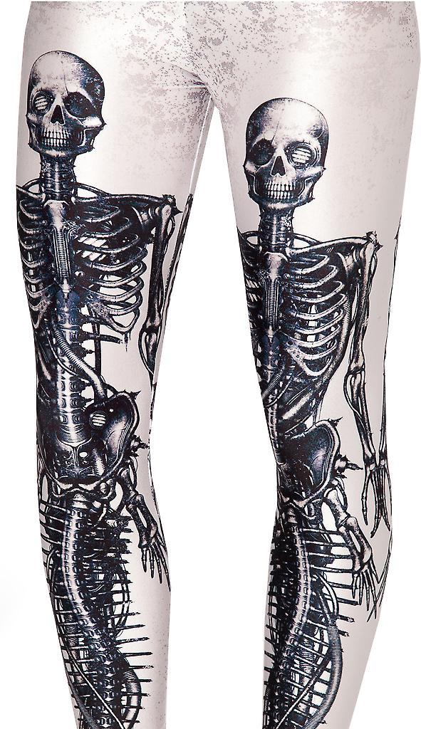 Waooh - Fashion - Legging printed skeletons