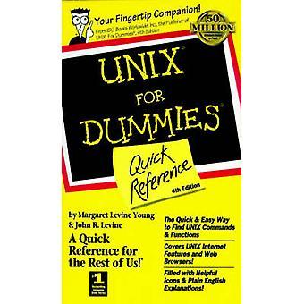 UNIX pour les nuls rapide (4e édition révisée) de référence par Le Margaret