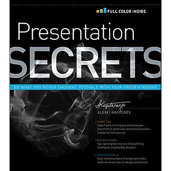Presentation Secrets by Alexei Kapterev - 9781118034965 Book