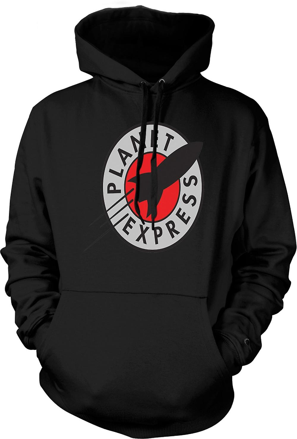 Mens Hoodie - Planet Express - preventivo