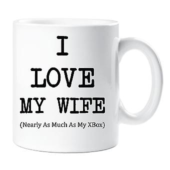 I Love My Wife Nearly As Much As My XBox Mug