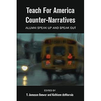 Undervisa för Amerika Motbilder: Alumni talar och talar ut (svart studier och kritiskt tänkande)