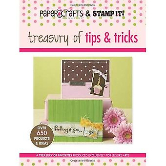 Paper Crafts Magazine and Stamp It!: Treasury of Tips & Tricks (Paper Crafts & Stamp It)