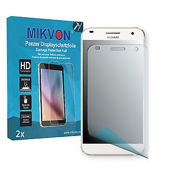 Huawei Ascend G7 Screen Protector - Mikvon Armor Screen Protector (Retail Package with accessories)